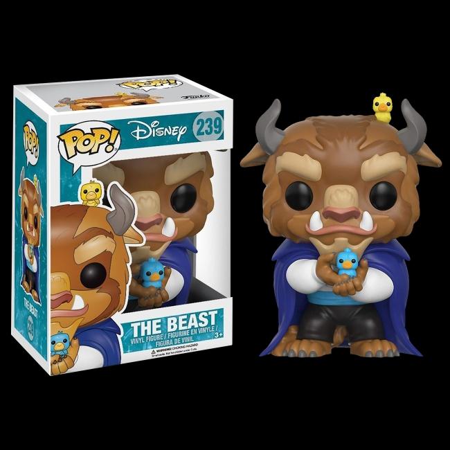 Funko Pop The Beast 239 - A Bela e a Fera - Disney